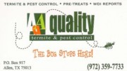 AAA Quality Termite & Pest Control